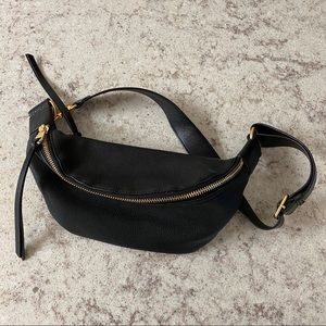 REBECCA MINKOFF Black Bree Belt Bag